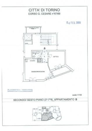 Appartamento in vendita a Torino, Barriera Di Milano, Con giardino, 60 mq - Foto 9