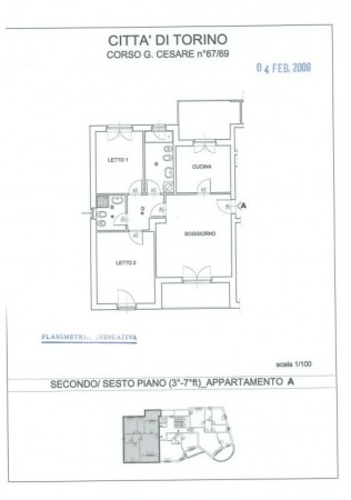 Appartamento in vendita a Torino, Barrera Milano, Con giardino, 92 mq - Foto 2