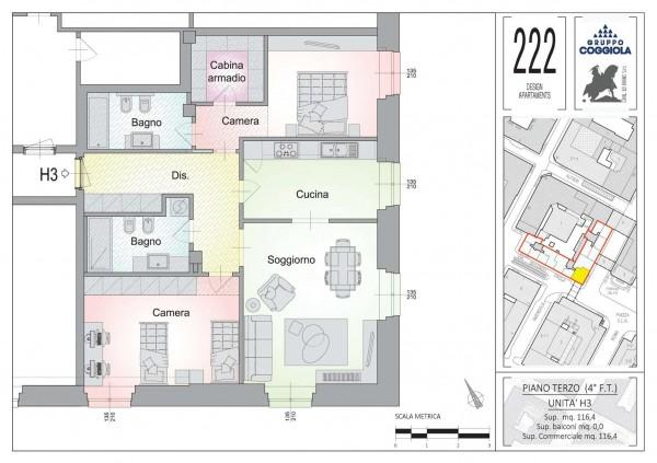 Appartamento in vendita a Torino, 116 mq - Foto 19