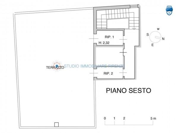 Appartamento in vendita a Firenze, 105 mq - Foto 3