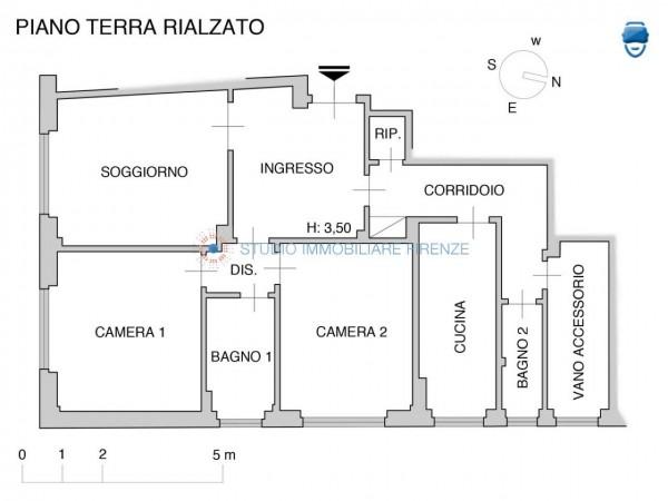 Appartamento in vendita a Firenze, 105 mq - Foto 4