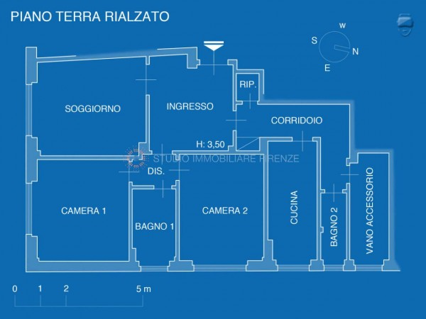 Appartamento in vendita a Firenze, 105 mq - Foto 27