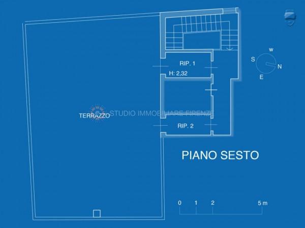 Appartamento in vendita a Firenze, 105 mq - Foto 26