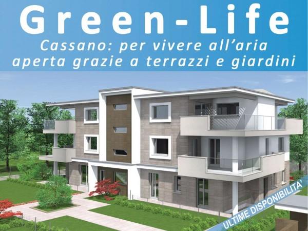 Appartamento in vendita a Cassano d'Adda, Con giardino, 92 mq - Foto 15