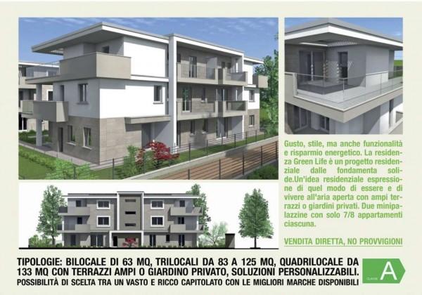 Appartamento in vendita a Cassano d'Adda, Con giardino, 92 mq - Foto 14