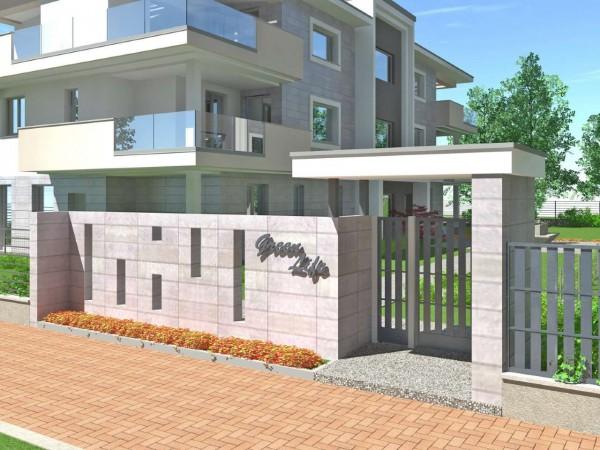 Appartamento in vendita a Cassano d'Adda, Con giardino, 92 mq - Foto 7