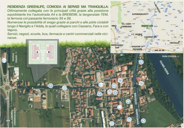 Appartamento in vendita a Cassano d'Adda, Con giardino, 92 mq - Foto 11