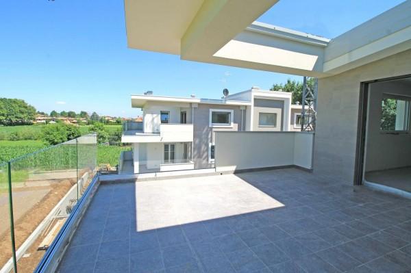 Appartamento in vendita a Cassano d'Adda, Con giardino, 92 mq - Foto 3