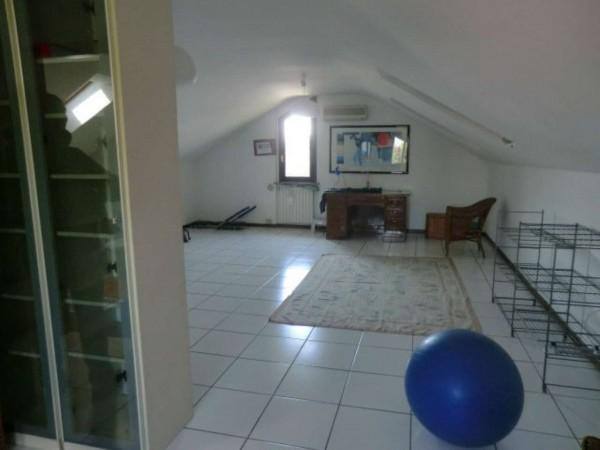 Villetta a schiera in vendita a Arese, Arredato, 240 mq - Foto 12