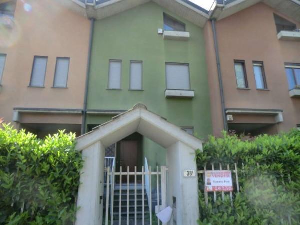 Villetta a schiera in vendita a Arese, Arredato, 240 mq - Foto 3