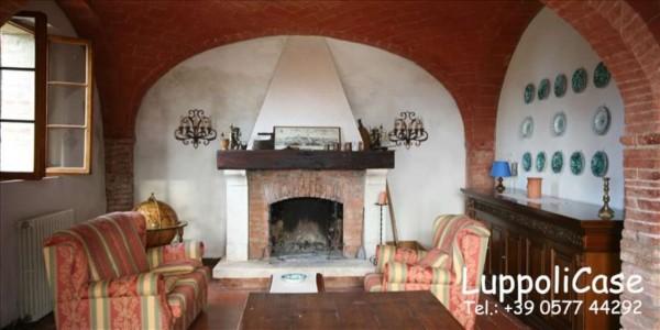 Villa in vendita a Rapolano Terme, Con giardino, 280 mq