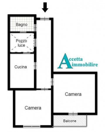 Appartamento in vendita a Taranto, Semicentrale, 72 mq - Foto 3