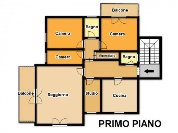 Villa in vendita a Pozzolengo, Vicino Al Centro, Con giardino, 400 mq - Foto 3