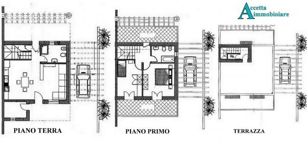 Villa in vendita a Taranto, Residenziale, Con giardino, 90 mq - Foto 7