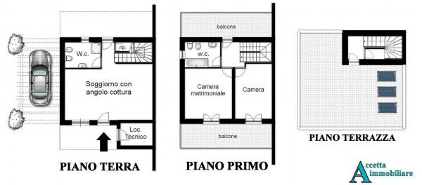 Villa in vendita a Taranto, Residenziale, Con giardino, 90 mq - Foto 2
