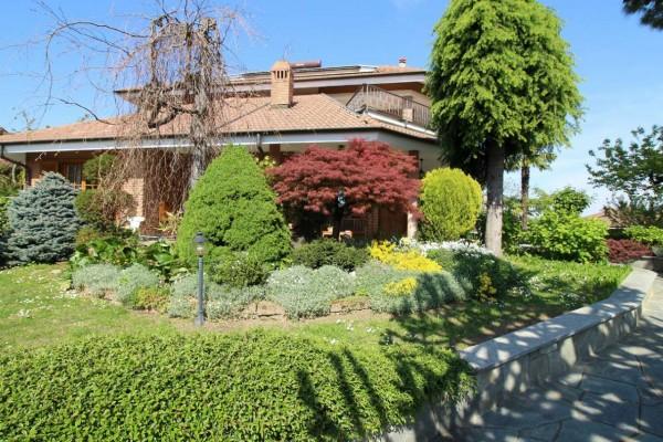 Villa in vendita a Alpignano, Centro, Con giardino, 450 mq - Foto 24