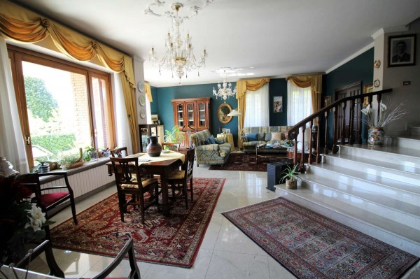 Villa in vendita a Alpignano, Centro, Con giardino, 450 mq - Foto 11