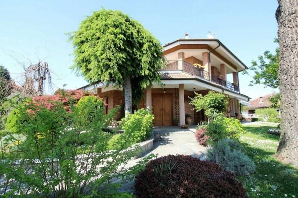 Villa in vendita a Alpignano, Centro, Con giardino, 450 mq - Foto 1