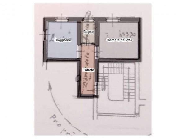 Appartamento in vendita a Castellanza, Centro, Arredato, 55 mq - Foto 2