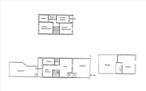 Appartamento in vendita a Monteroni d'Arbia, Con giardino, 150 mq - Foto 2
