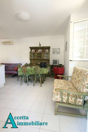 Villa in vendita a Leporano, Mare - Residenziale, Arredato, con giardino, 65 mq - Foto 11