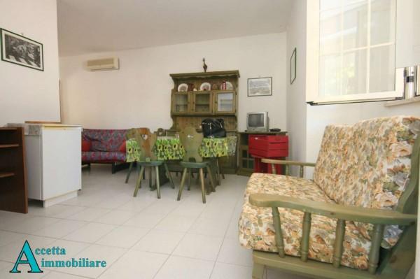 Villa in vendita a Leporano, Mare - Residenziale, Arredato, con giardino, 65 mq - Foto 5
