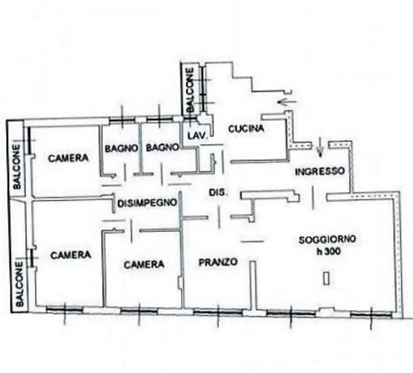 Appartamento in affitto a Busto Arsizio, Arredato, 210 mq - Foto 9