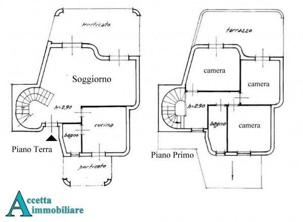 Villa in vendita a Taranto, Residenziale, Con giardino, 147 mq - Foto 2