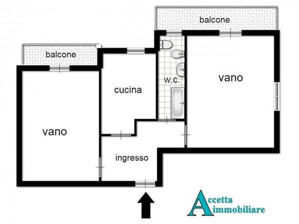 Appartamento in vendita a Taranto, Semicentrale, 65 mq - Foto 3