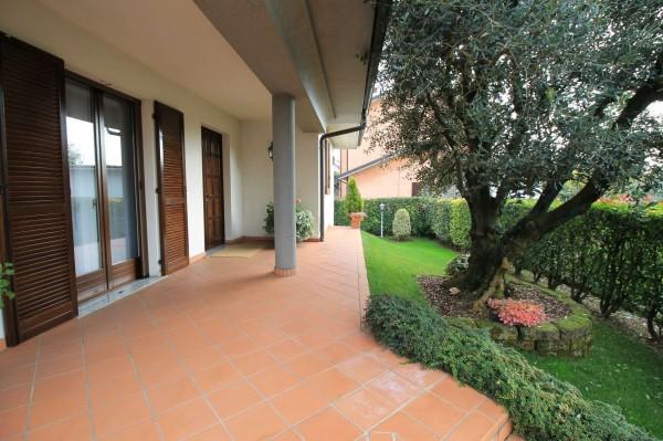 Villa in vendita a Cassano d'Adda, Stazione, Con giardino, 227 mq - Foto 9