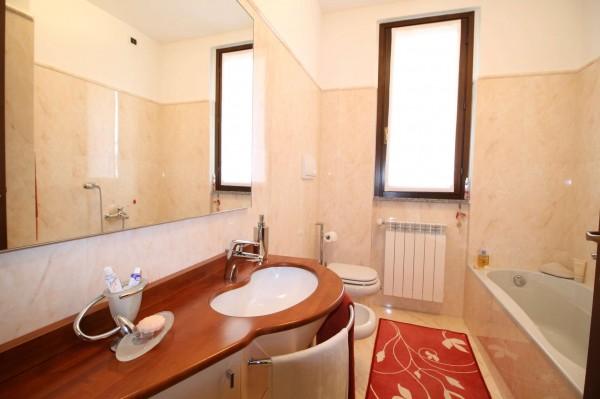 Villa in vendita a Cassano d'Adda, Stazione, Con giardino, 227 mq - Foto 14