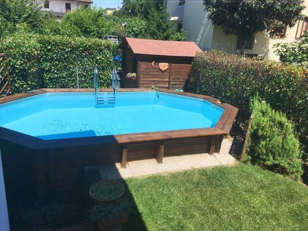Villa in vendita a Cassano d'Adda, Stazione, Con giardino, 227 mq - Foto 24