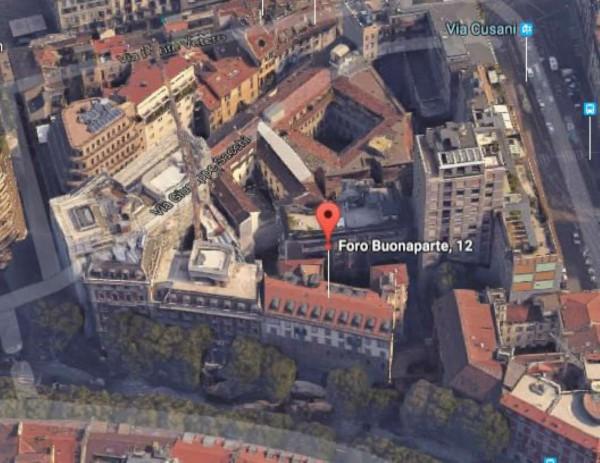 Ufficio in affitto a Milano, Cairoli, 300 mq