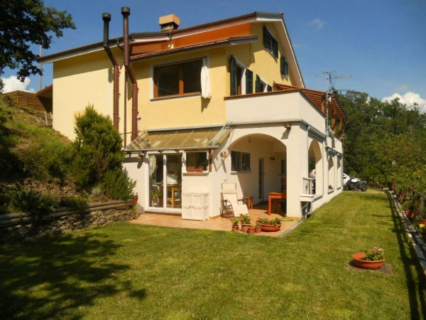 Villa in vendita a San Colombano Certenoli, Con giardino, 350 mq - Foto 1