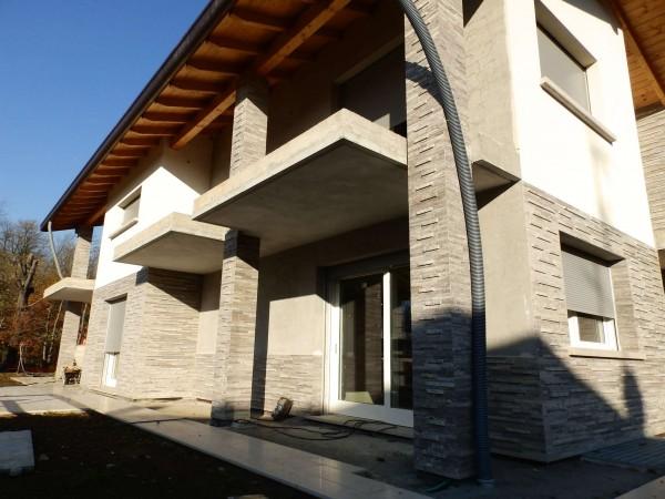 Villa in vendita a Lentate sul Seveso, Con giardino, 290 mq - Foto 1