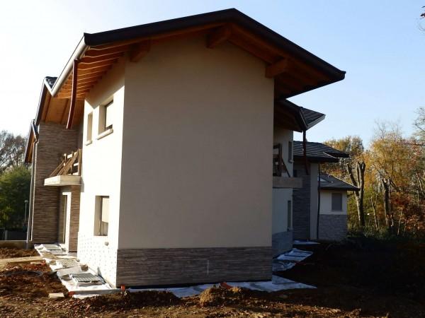 Villa in vendita a Lentate sul Seveso, Con giardino, 290 mq - Foto 3