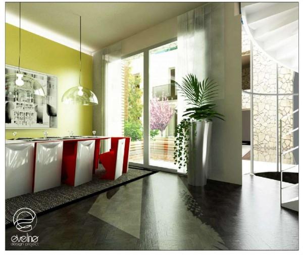 Appartamento in vendita a Padova, Voltabarozzo, Con giardino, 190 mq - Foto 3