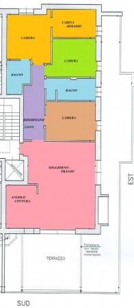 Appartamento in vendita a Padova, Voltabarozzo, Con giardino, 190 mq - Foto 2