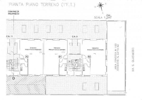 Ufficio in affitto a Orbassano, Strada Rivalta, Con giardino, 75 mq - Foto 3