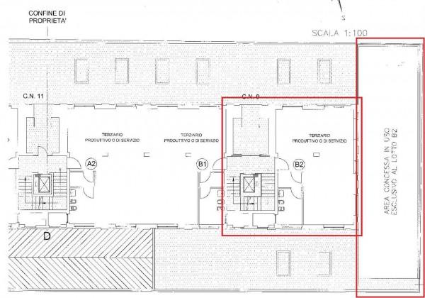 Ufficio in affitto a Orbassano, Strada Rivalta, Con giardino, 75 mq - Foto 6