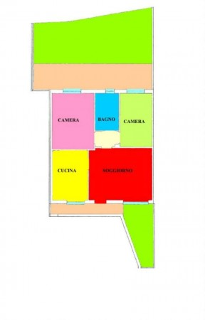 Appartamento in vendita a Monte Cremasco, Residenziale, Con giardino, 105 mq - Foto 2