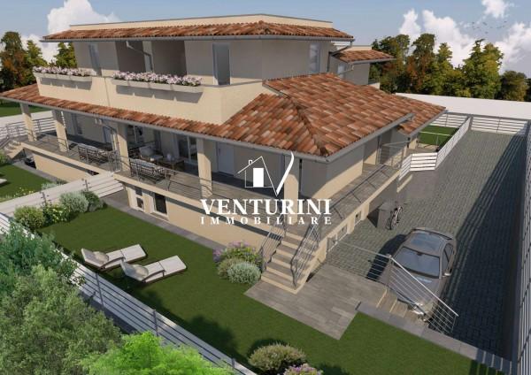 Villetta a schiera in vendita a Roma, Valle Muricana, Con giardino, 140 mq - Foto 9