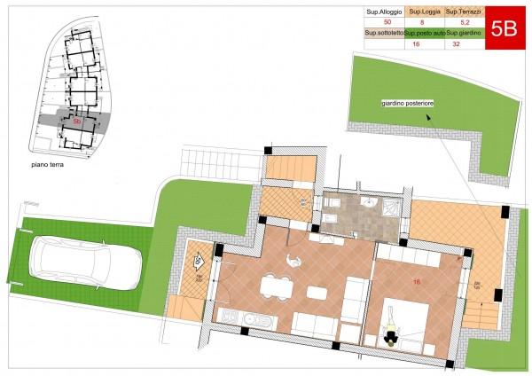 Appartamento in vendita a Arcola, Romito Magra, Con giardino, 45 mq - Foto 6