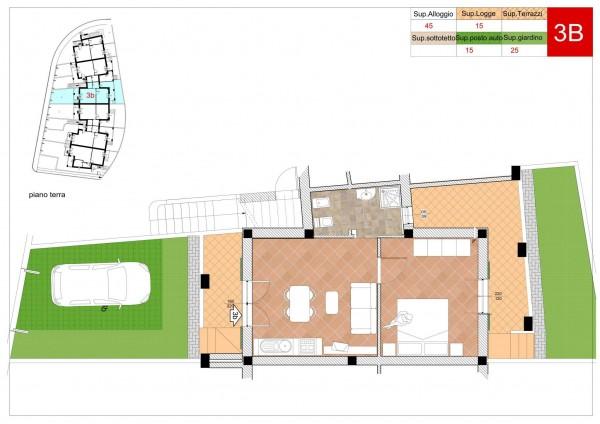 Appartamento in vendita a Arcola, Romito Magra, Con giardino, 45 mq - Foto 8