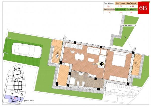 Appartamento in vendita a Arcola, Romito Magra, Con giardino, 45 mq - Foto 5