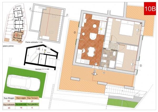 Appartamento in vendita a Arcola, Romito Magra, Con giardino, 45 mq - Foto 2