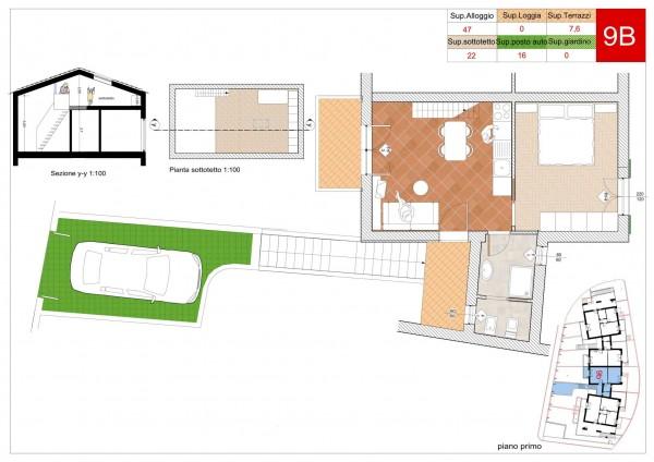 Appartamento in vendita a Arcola, Romito Magra, Con giardino, 45 mq - Foto 3