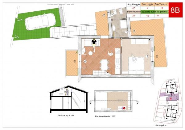 Appartamento in vendita a Arcola, Romito Magra, Con giardino, 45 mq - Foto 4