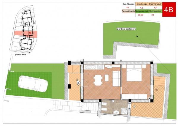 Appartamento in vendita a Arcola, Romito Magra, Con giardino, 45 mq - Foto 7