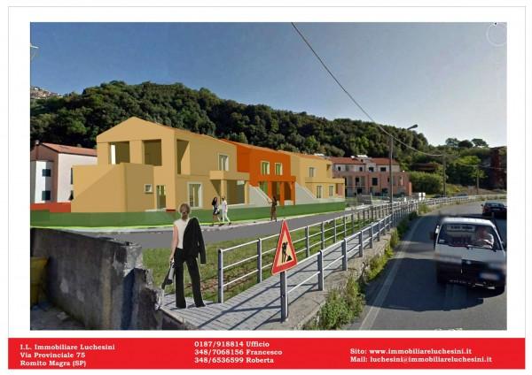 Appartamento in vendita a Arcola, Romito Magra, Con giardino, 45 mq